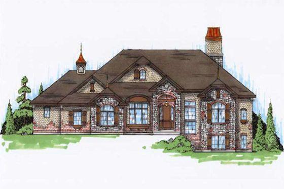 House Plan 5-314 house Pinterest European house plans