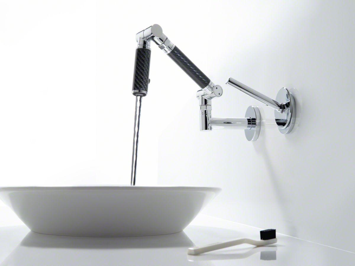 Kohler Articulating Wall Mount Bathroom Faucet Kohler Bathroom