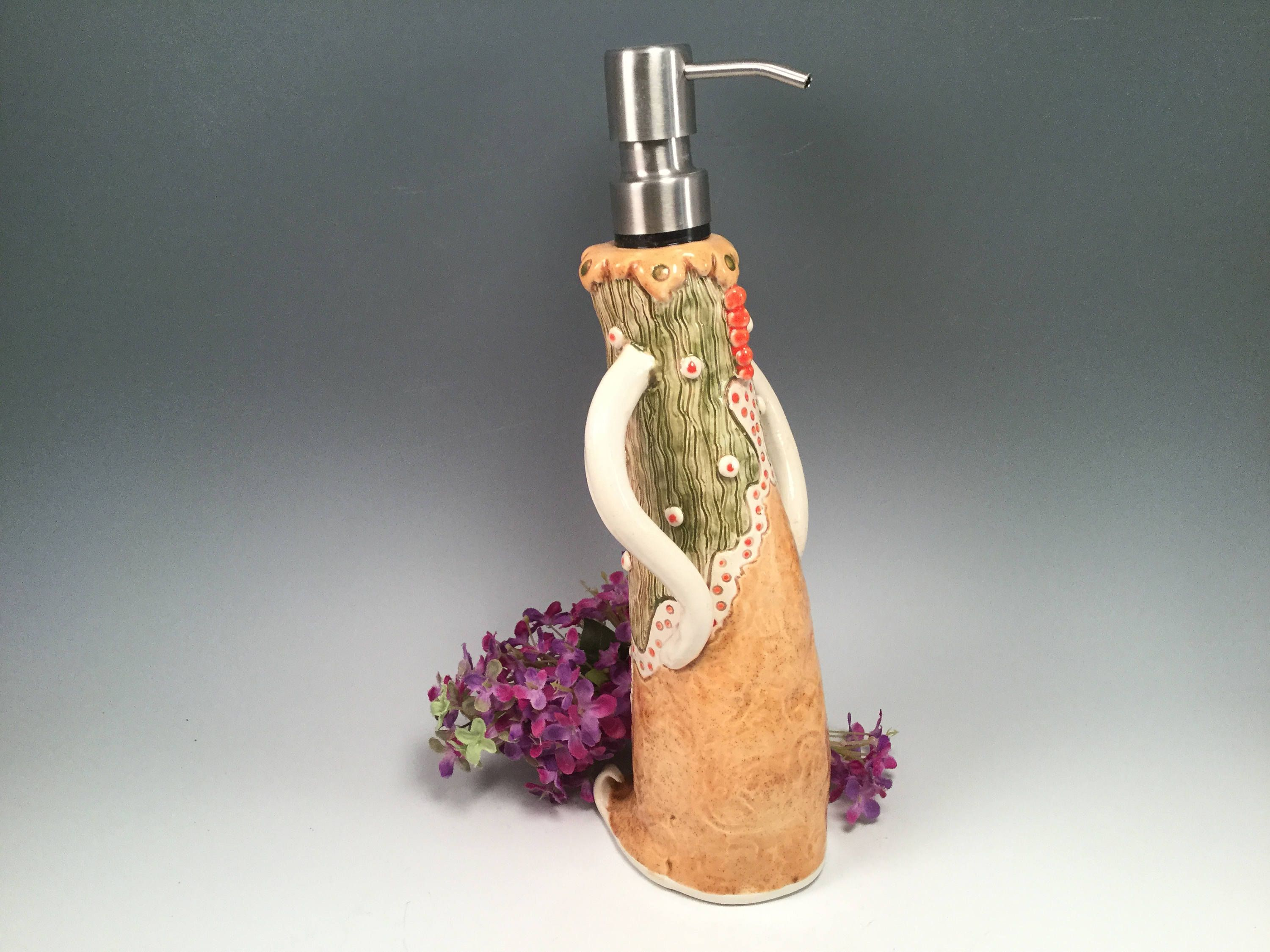 Soap Dispenser Soap Pump Bathroom Accessories Soap Pump Whimsical
