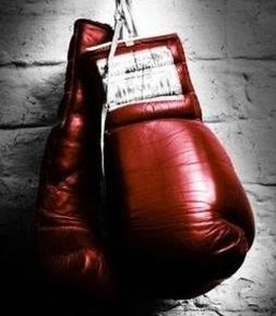 Boxing, another sport I grew up watching & love it to this day! Reminds me of my Papi!
