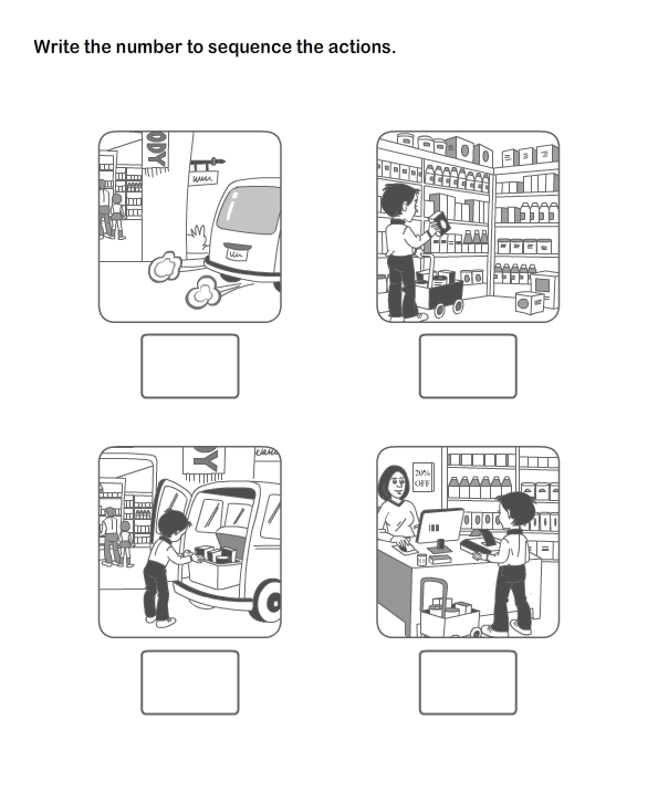 Picture Sequence Worksheet 21 - esl-efl Worksheets - kindergarten ...