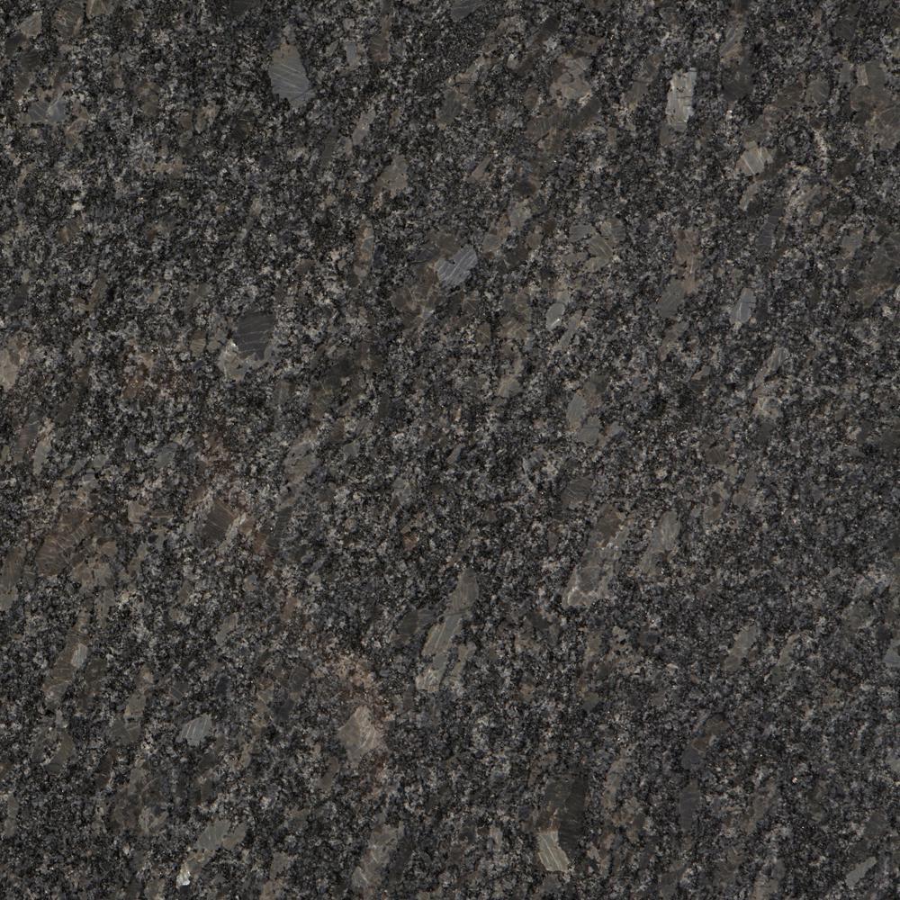 Stonemark 3 In X 3 In Granite Countertop Sample In Steel Grey Az G120 Stonemark Granite Granite Countertops Natural Stone Tile