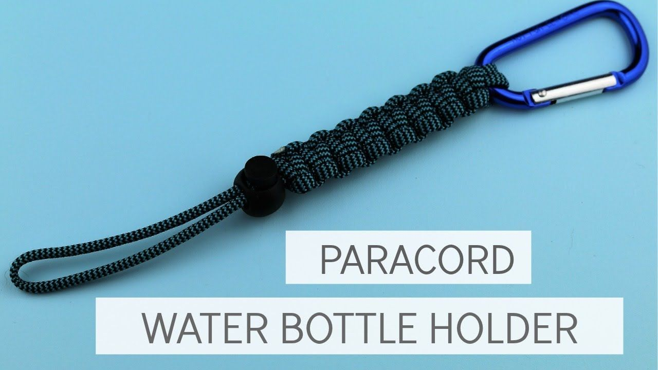How To Make A Water Bottle Paracord Lanyard Easy Tutorial Uzly