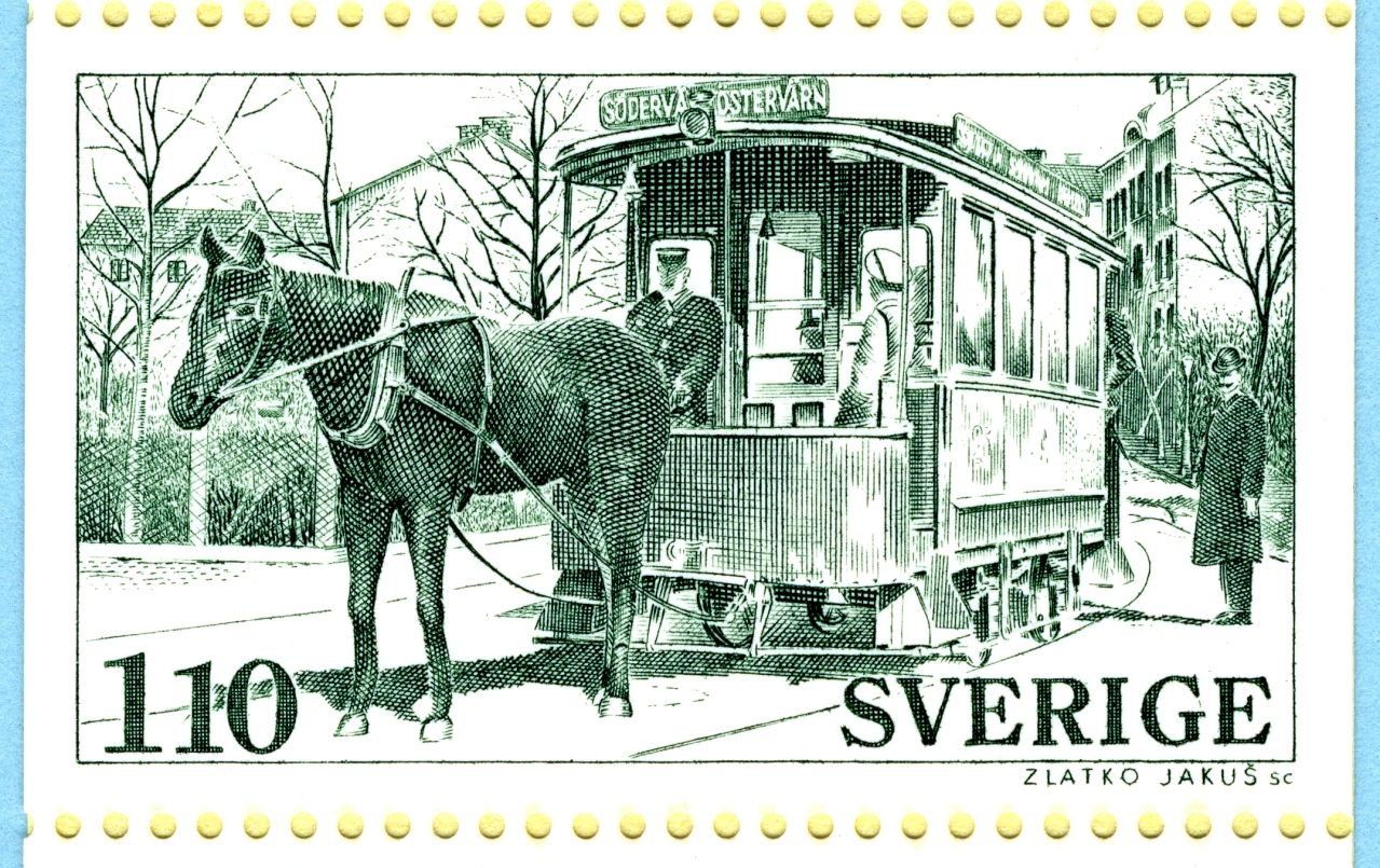 Tranvía de Malmö 1877, Suecia