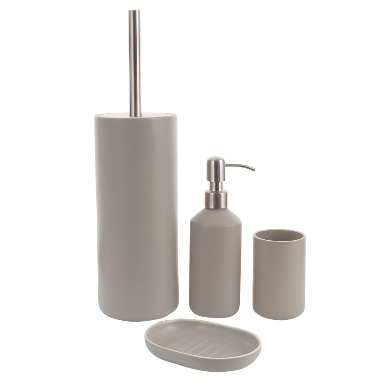 This Grey 'Country Modern' Bathroom Accessory Range From J By Jasper Conran Is A Sleek And