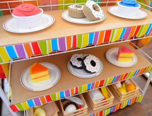 Cardboard Cafe Pretend Play Bakeries And Inner Child