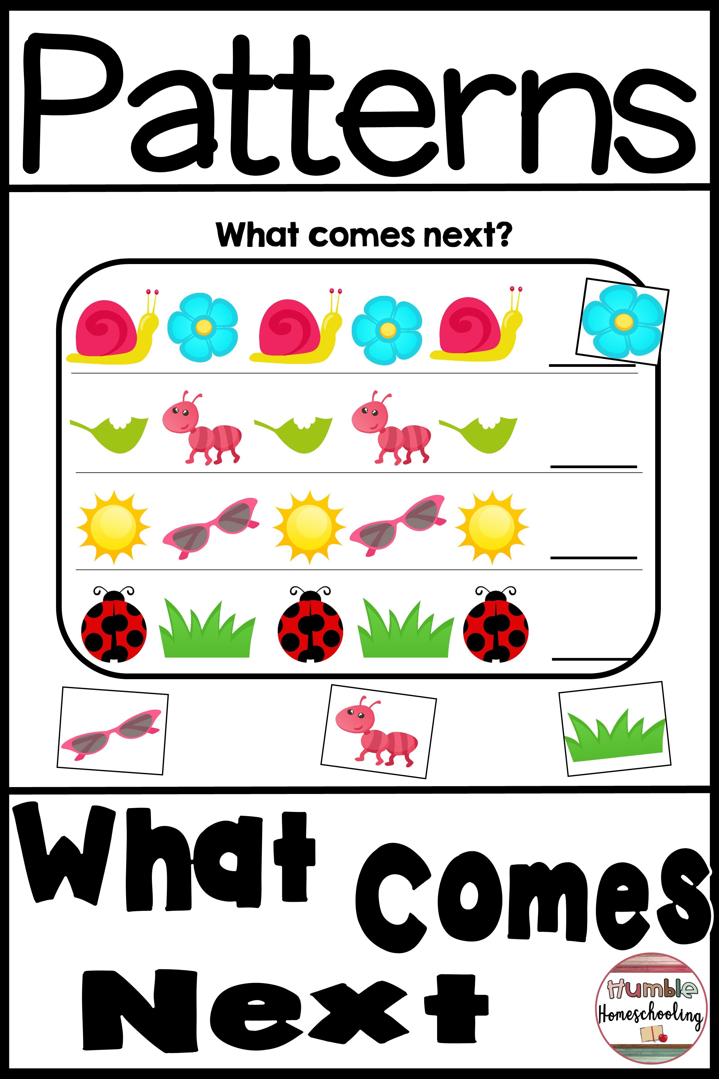 Pattern Worksheets