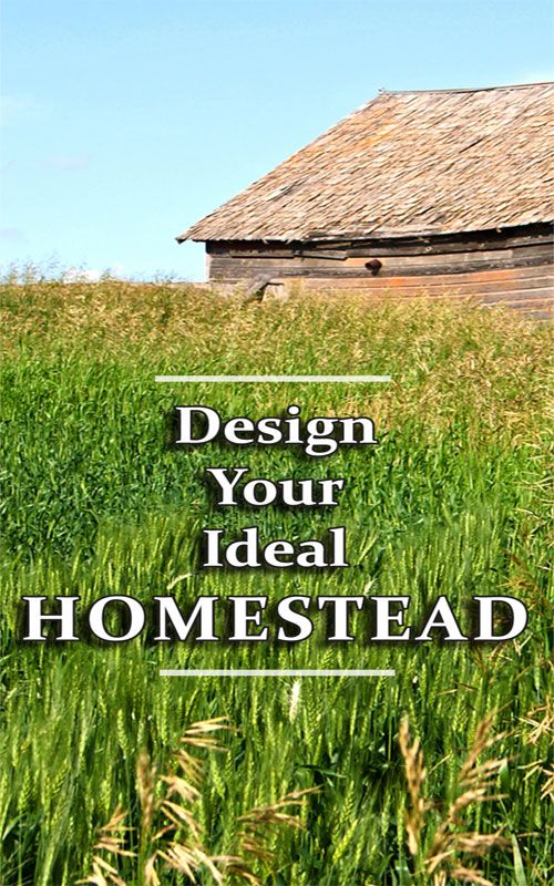 Design your ideal homestead homestead pinterest for 2 acre farm layout