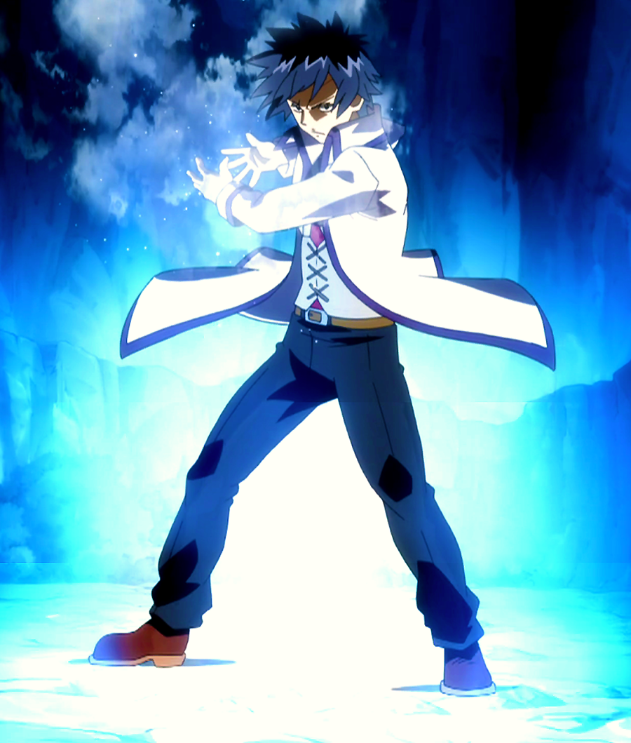 Gray_casts_his_magic. Fairy Tail