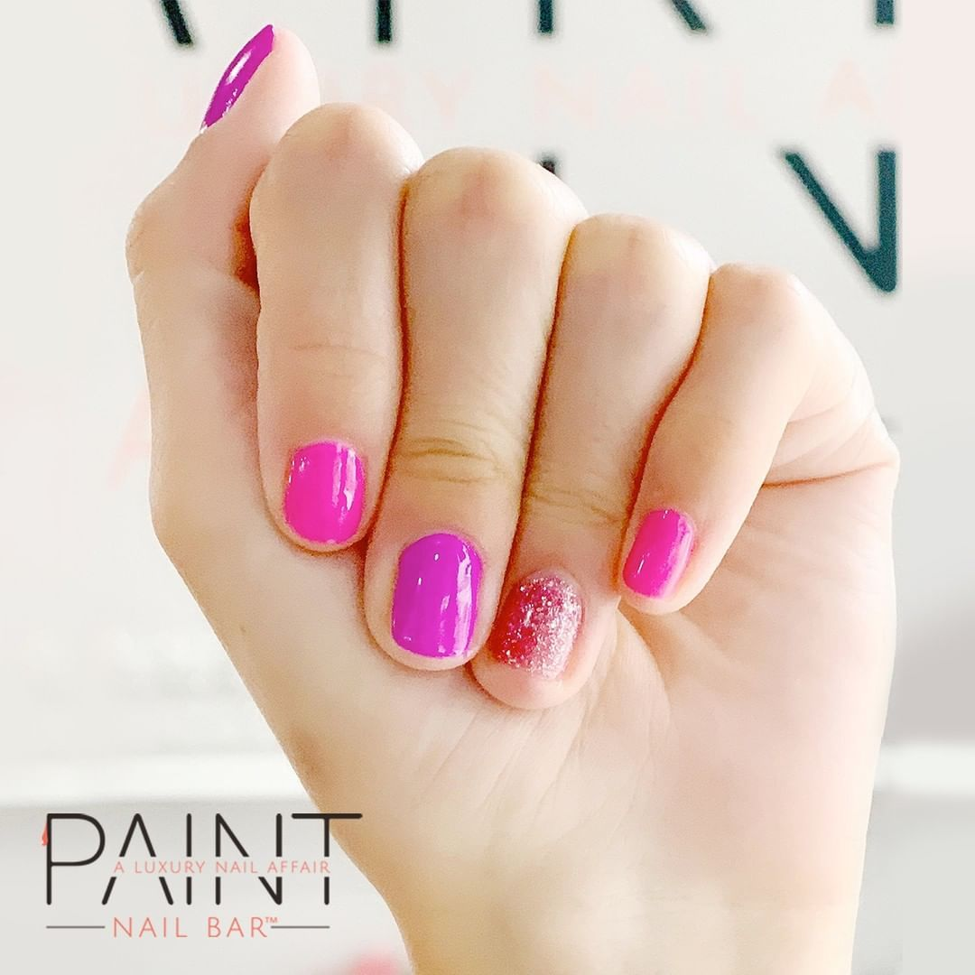 Feeling This Pretty In Pink Look Today From Our Sisters At Paint Sarasota With Images Luxury Nails Fun Nails Nail Colors