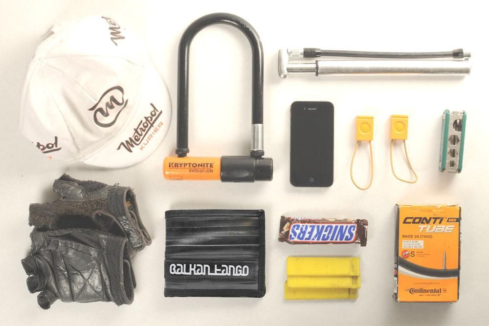 from the beltbag of a swiss bicycle messenger... including our recycled bicycle innertube wallet ;) how do you like it?