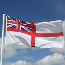 Ensign British Royal Navy Flag Navy Day Royal Navy Navy Flag
