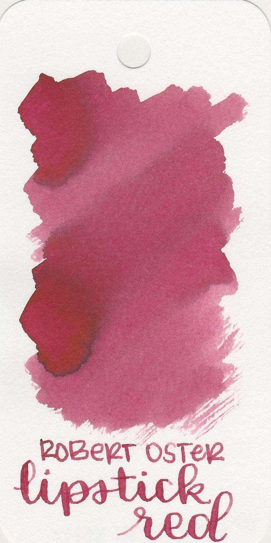 Ink review 157 robert oster lipstick red red lipsticks