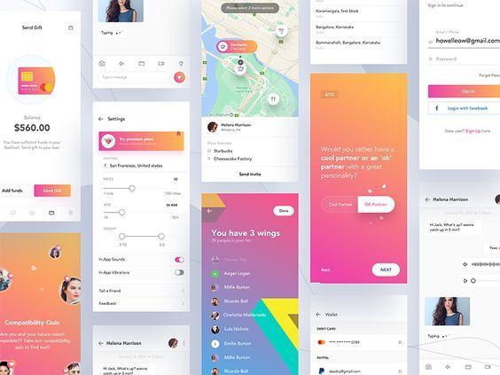 kreativ dating app