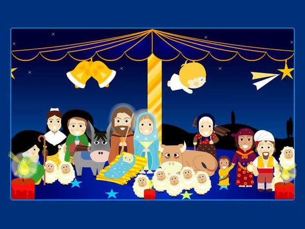 Fondo de navidad belen dibujo isabel arroyo 58 hotmail - Dibujos de belenes ...