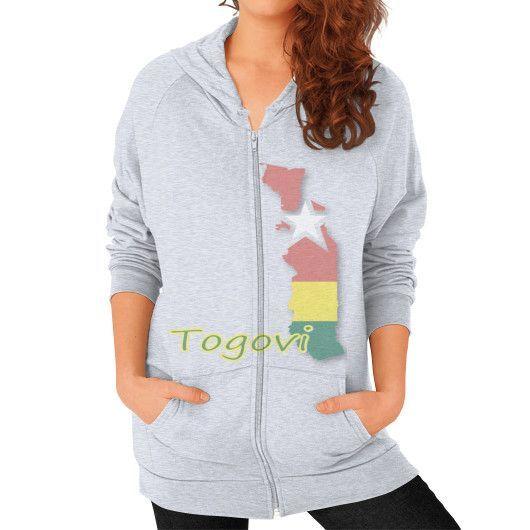 Togovi California Zip Hoodie Women's
