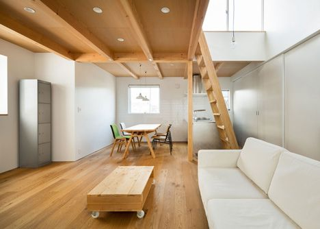 Mezzanine Floors In Houses house in chibayuji kimura design | interior design | pinterest