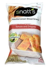 Snatt's Mediterranean Bread Snacks - Snatt's - Kjeks, Knekkebrød & bakverk - Produkter - Haugen-Gruppen