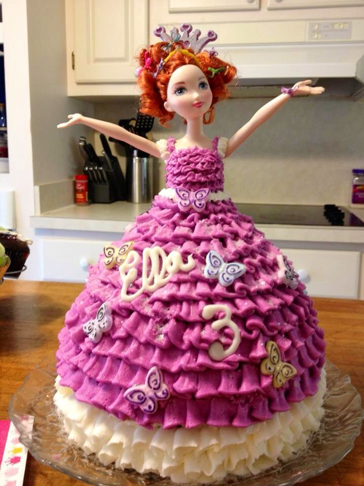 Admirable Fancy Nancy Birthday Cake With Images Fancy Birthday Party Funny Birthday Cards Online Barepcheapnameinfo