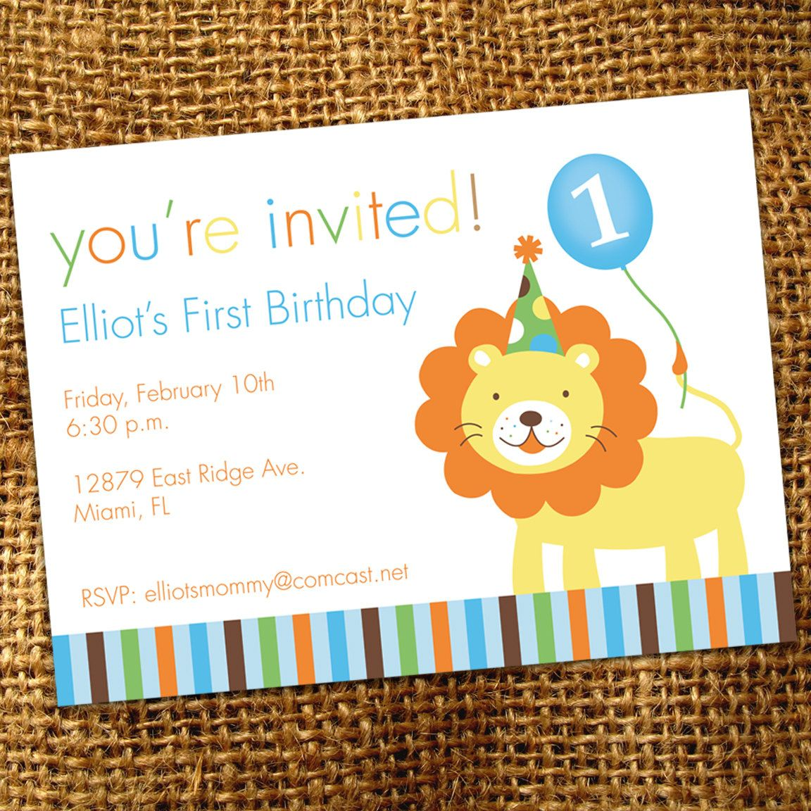 Zoo Animals Birthday Party Invitation | party love | Pinterest | Zoo ...