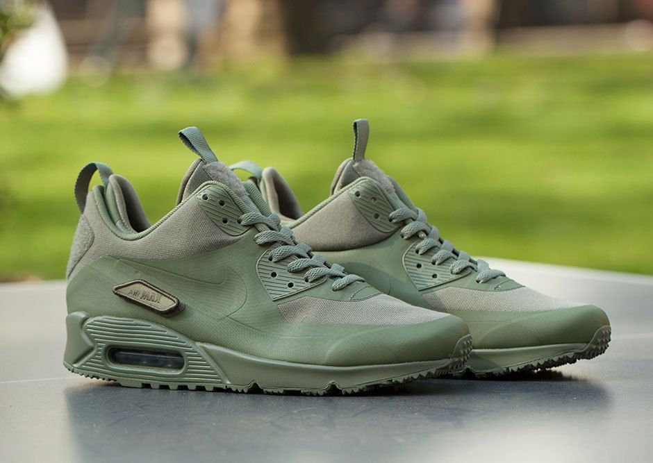 Details about Nike Air Max 90 Sneakerboot SP 'Patch' Steel