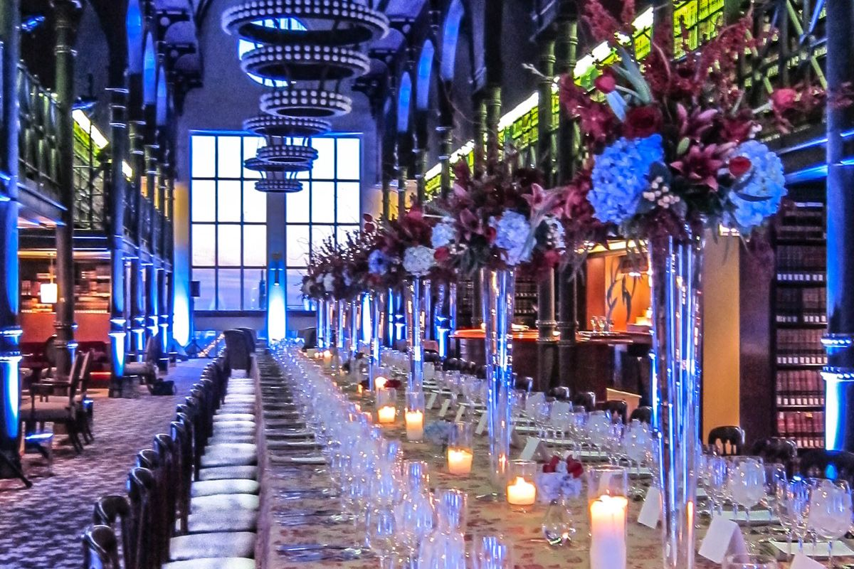 The Library at South LaSalle // Chicago // Max: 250 guests ...