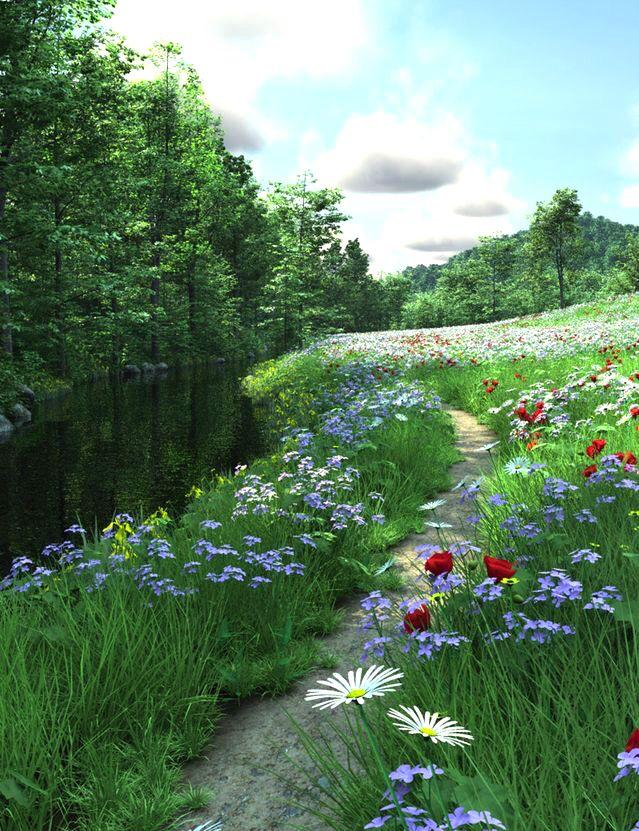 Pin de Theo Carrère en Jardin Pinterest Paisajes, Jardines y Flores - paisajes jardines