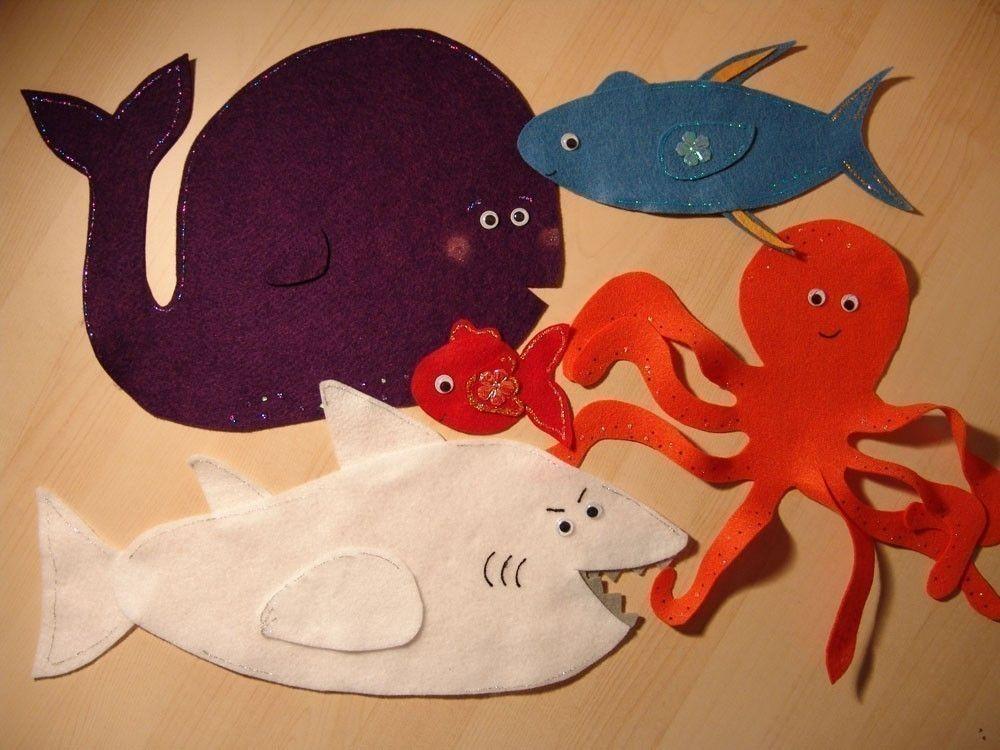Slippery Fish Felt Story // Felt Stories // Flannel Board