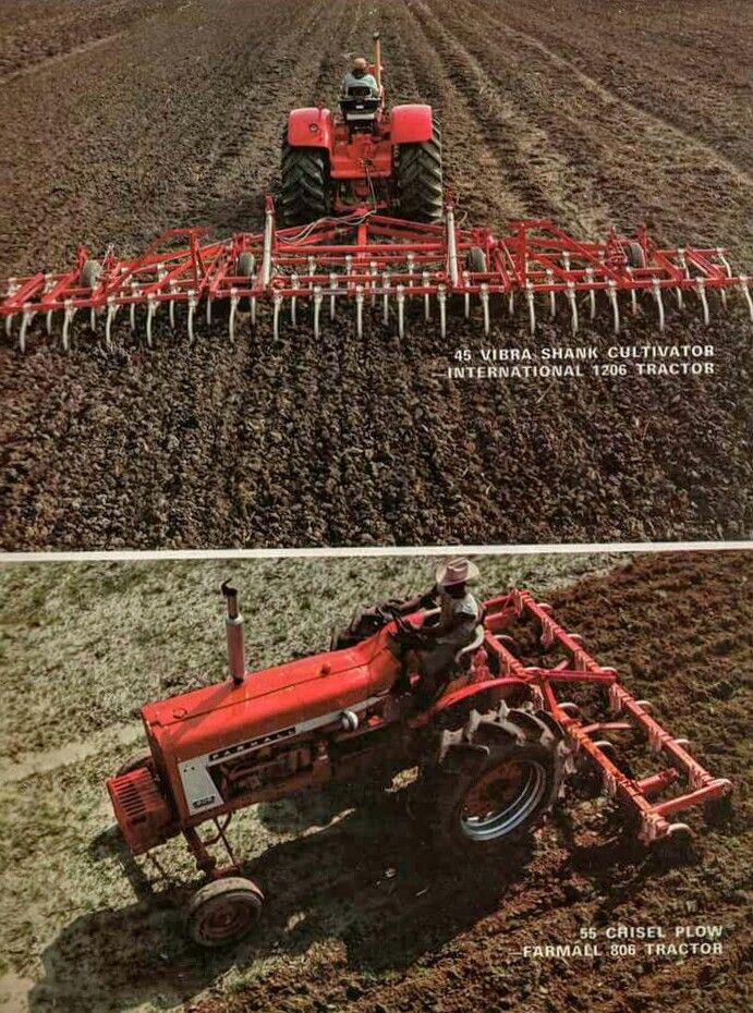Ih 45 Vibra Shank Field Cultivator 55 Chisel Plow