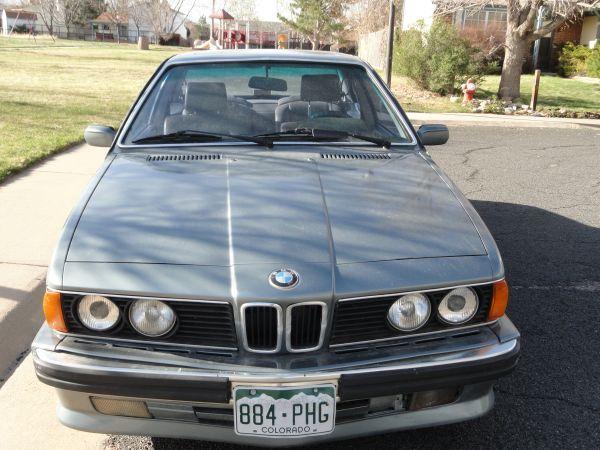 1988 BMW 635CSI LSeries great condition - $7000 ...