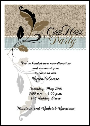 Flourish leaf open house party invitations at invitationsbyu flourish leaf open house party invitations at invitationsbyu card number 7668ibu stopboris Choice Image