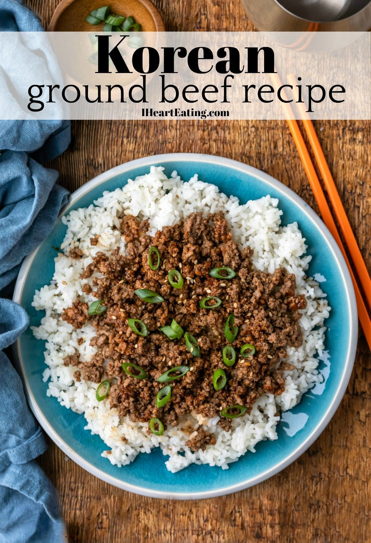 Korean Ground Beef In 2020 Dinner Recipes Easy Family Beef Recipes Korean Ground Beef