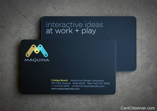 Mapquina Business Card All That Pretty Paper Pinterest - Two sided business card template