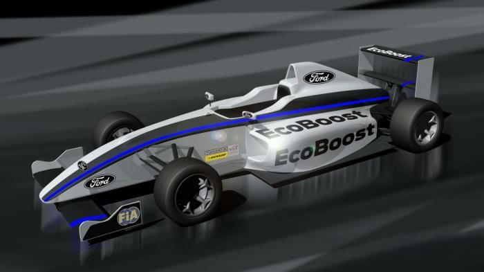 2015 Formula #Ford announced, will feature a new carbon fiber monocoque chassis