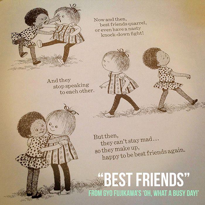 Best Friends Gyo Fujikawa Friends Since Childhood Quotes Childhood Friendship Quotes Best Friends