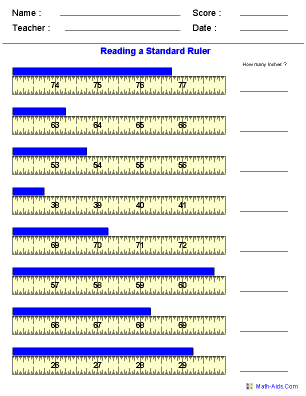 reading standard measurements worksheets 6th grade math pinterest measurement worksheets. Black Bedroom Furniture Sets. Home Design Ideas