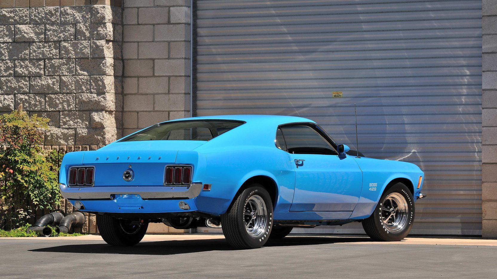 1970 Ford Mustang Boss 429 In Grabber Blue Kk 2192 With Motor From Kk 1864 Ford Mustang Boss 1970 Ford Mustang Ford Mustang
