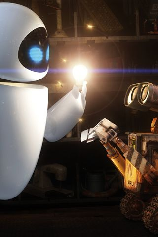 Wall E Eve Android Wallpaper HD  Movies Android Wallpapers HD