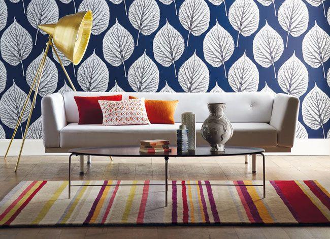 Wallpaper Wednesday Leaf Momentum Volume 2 From Harlequin Design Inredning Ideer For Heminredning Inredning