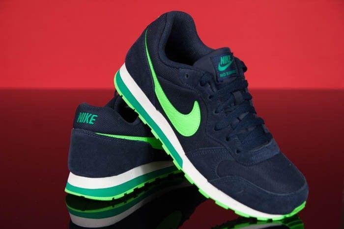 Buty Damskie Nike Md Runner 2 Granatowe 807316 403 6422433625 Oficjalne Archiwum Allegro Nike Sneakers Nike Shoes