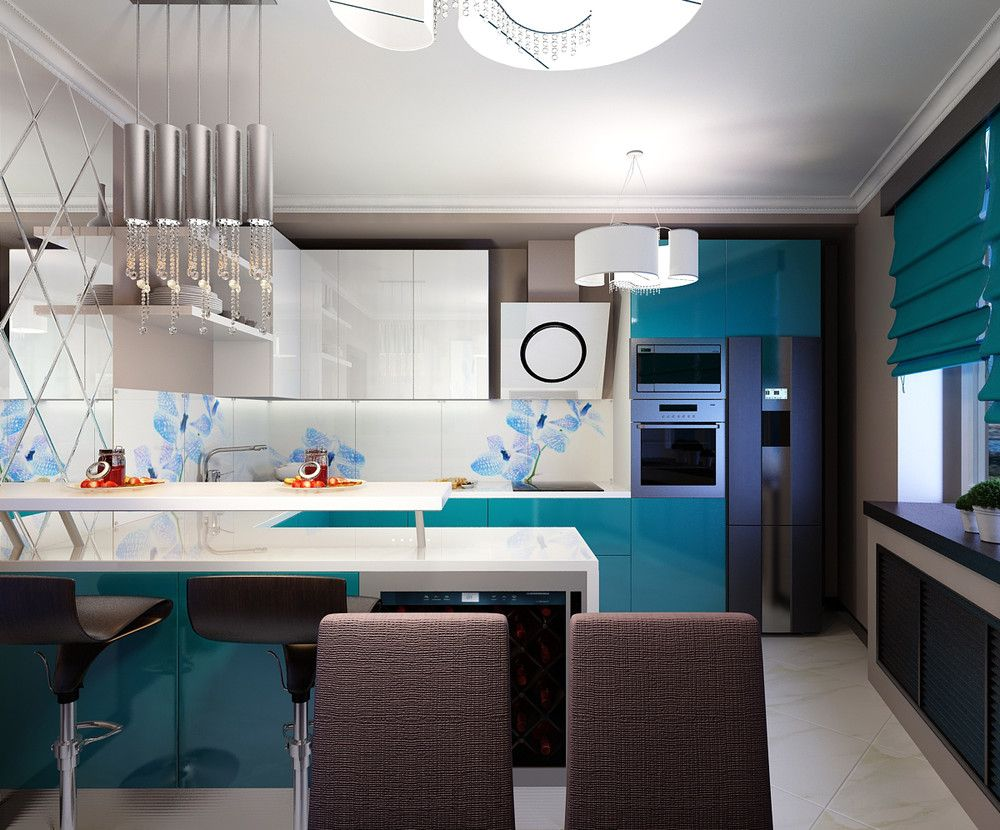 Kitchen for pinwin.ru #sibdecor #designer #pinwin #kitchen