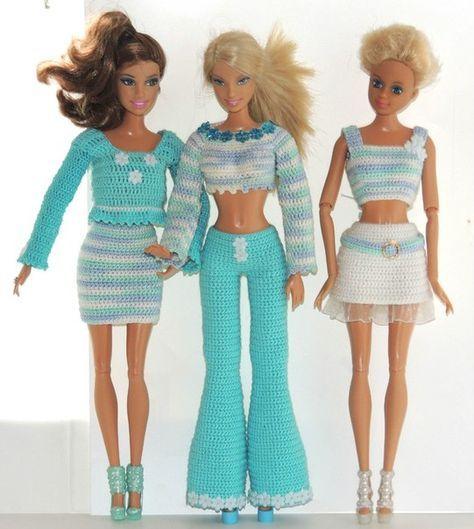 Pin von Nicole Schrader auf Barbie | Pinterest | Barbiekleidung ...
