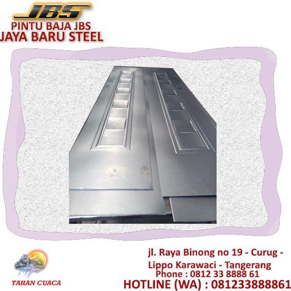 baja ringan spesifikasi steel door depok pintu besi desain