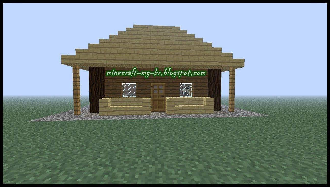Como hacer una casa segura f cil y r pido minecraft - Como limpiar una casa rapido ...