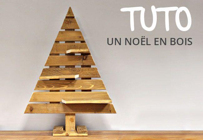 tutoriel comment faire un sapin en bois palette noel. Black Bedroom Furniture Sets. Home Design Ideas
