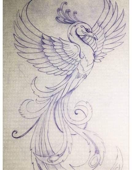 61+ Trendy Tattoo Bird Phoenix Tatoo