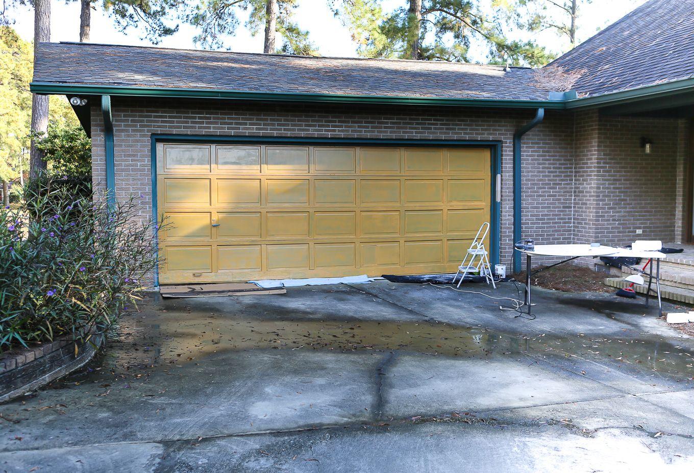Making Over My Garage Door In 2 Days Garage Doors Garage Door Styles Garage Door Design