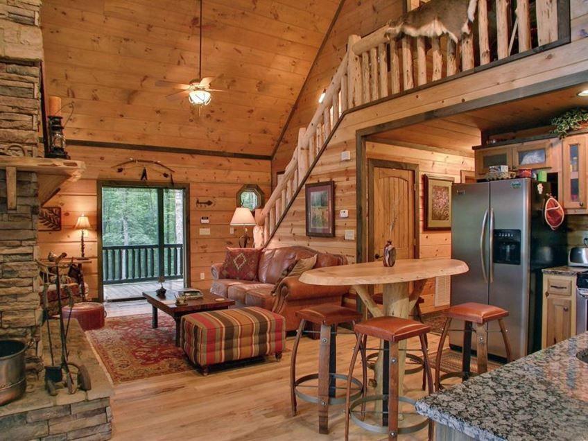 Small Wooden House Interior Design Idea 4 Home Ideas Small Cabin