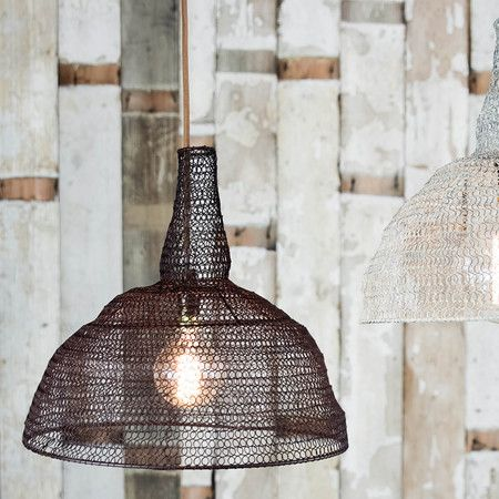 Jatani wire lamp shade conical rust rust kitchen living rooms buy the jatani wire lamp shade conical rust from nkuku at amara free uk delivery on all orders over greentooth Choice Image