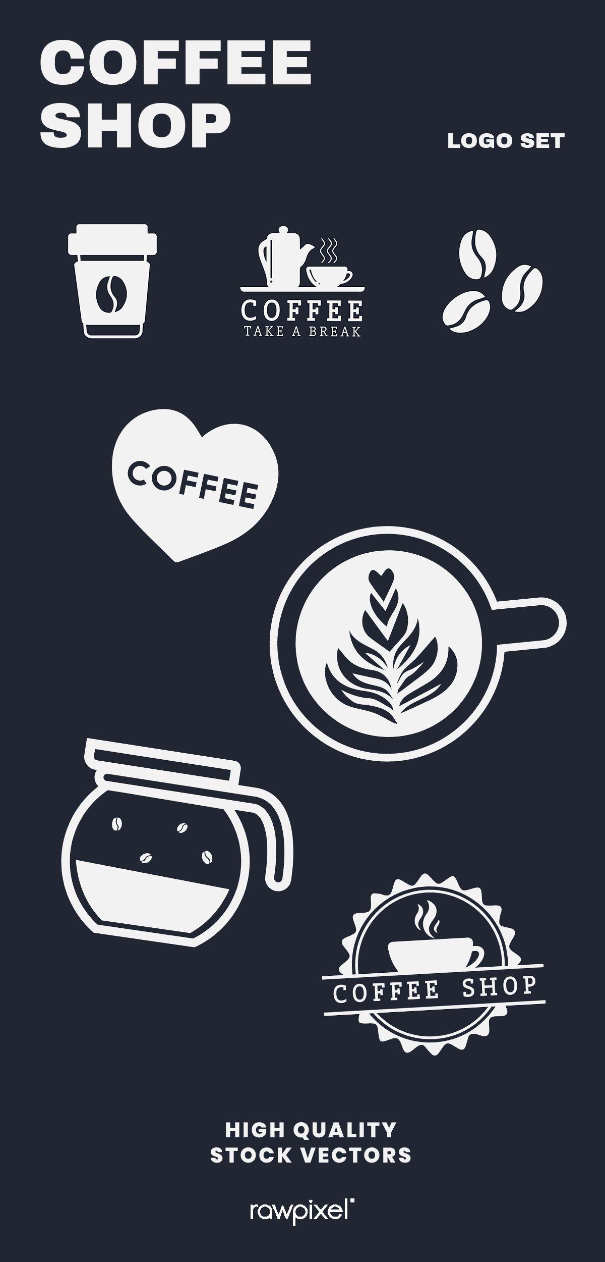 Download these amazing royaltyfree coffee shop branding